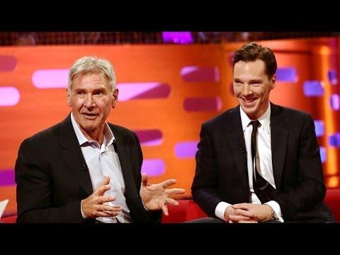 BENEDICT CUMBERBATCH, HARRISON FORD & the New Star Wars movie - The Graham Norton Show BBC AMERICA