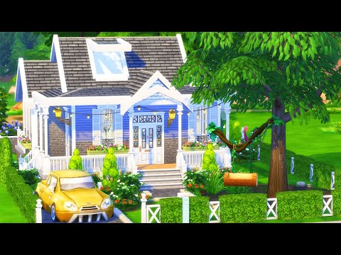 FAMILY BUNGALOW with TREE SWING | The Sims 4 SPEED BUILD Home (No CC)