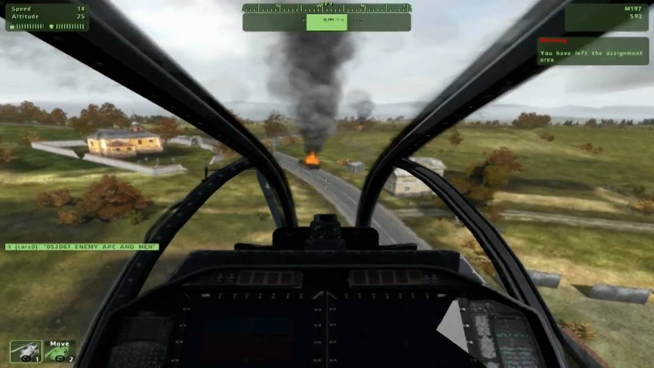 ArmA 2 TrackIR 5 Helicopter - Mission:Defense-Watch ...