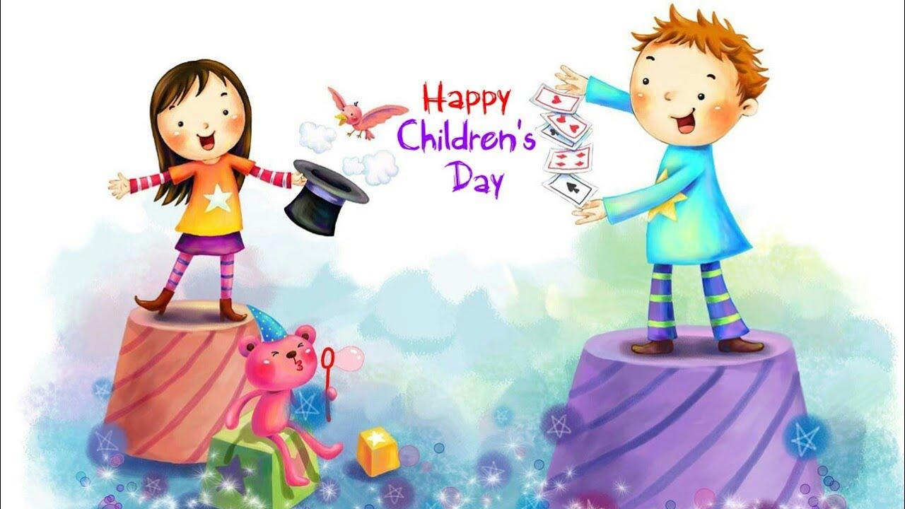 Happy Childrens Day Whatsapp Status Videos Happy Children Day