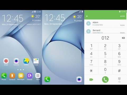 How to install themes  on galaxy j2