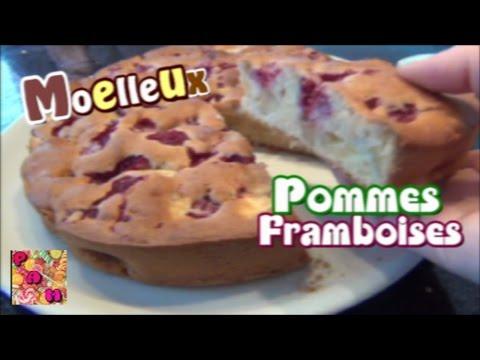❀-recette-moelleux-pommes-framboises-ultra-simple-❀