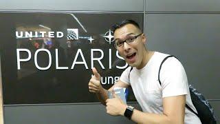 Jav Goes to Polaris Lounge SFO