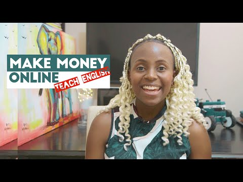 How to make money online in 2020 - Teach English| South Africa