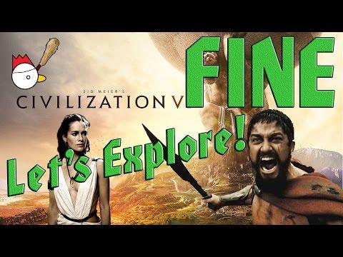 CIVILIZATION VI [ITA] Let's Explore 38# - QUESTA È SPARTAAAAA! Finale col botto!