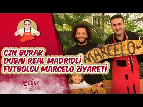 Czn Burak Dubai Real Madridli Futbolcu Marcelo Ziyareti