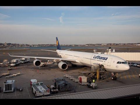 😎☝️ Der Lufthansa Airbus A340-600 - Zwischen Catering und Cockpit Doku