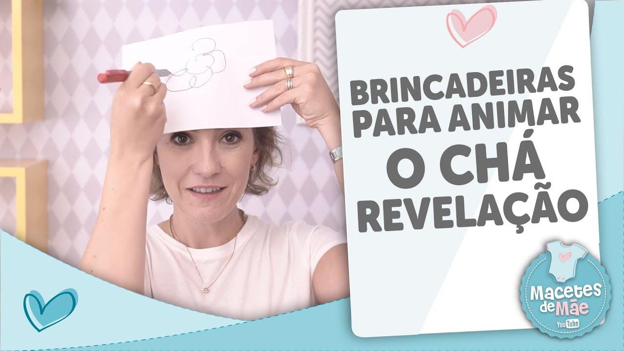3 Dicas De Brincadeiras Para O Chá Revelação Macetes De Mãe Youtube