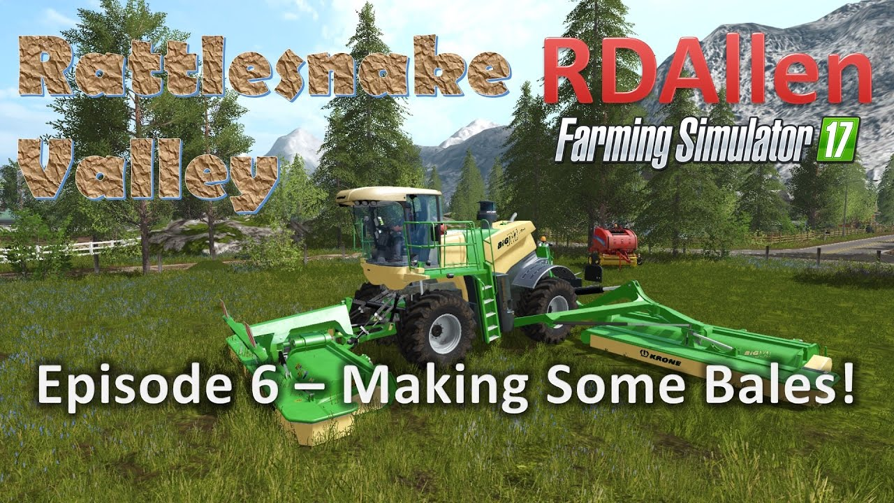how to make straw bales in farming simulator 17