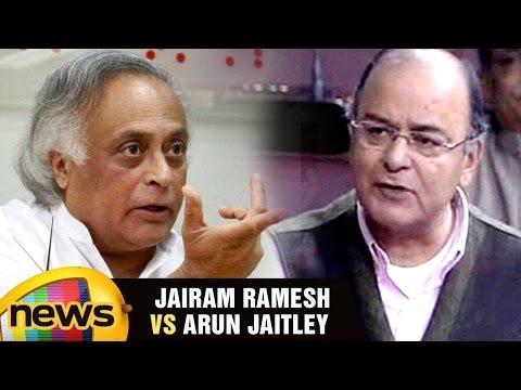 Jairam Ramesh Vs Arun Jaitley Over Passing Money Bills In Parliament | Rajya Sabha | Mango News