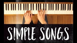 He's A Pirate (Simple Songs) [Easy Piano Tutorial]