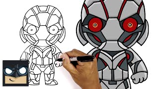 How to Draw Ultron | The Avengers | Step-by-Step Tutorial