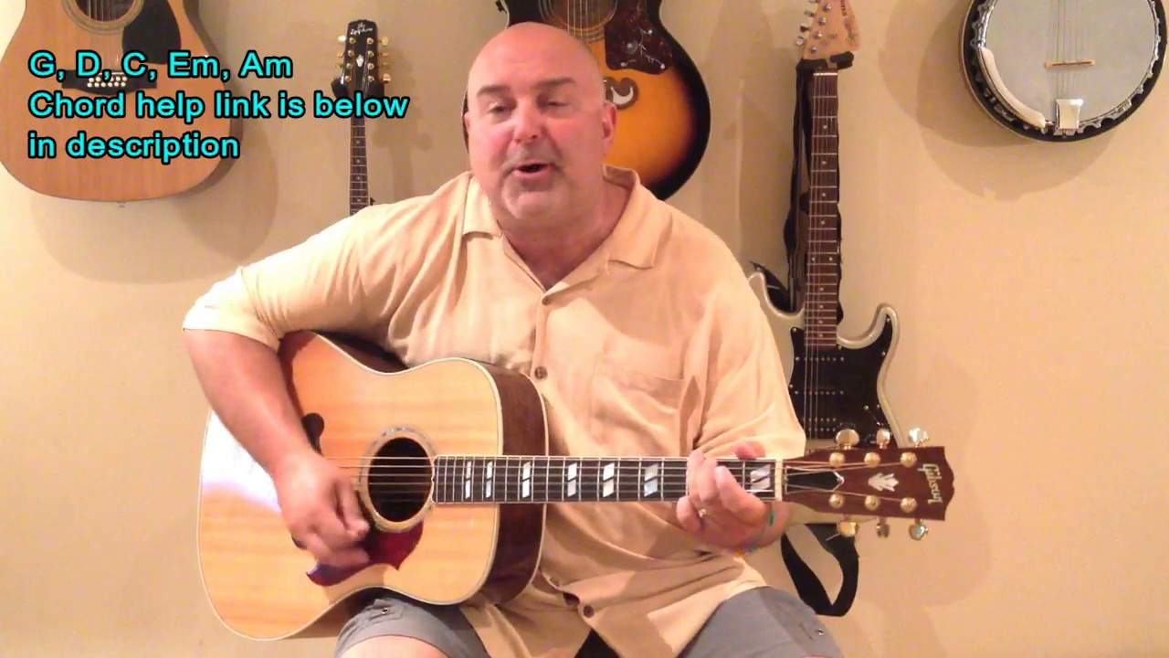 How To Play Take It Easy Eagles Cover Easy 5 Chord Tune Youtube