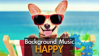 Happy background music - ukulele upbeat - royalty free music