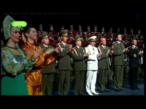 Russian Red Army Choir sings Theodorakis Athens 2012