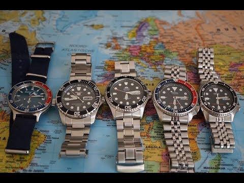 The Best Automatic Dive Watches Under $200 | Vostok Amphibia Orient Ray 2 Seiko SNZF17 SKX013 SKX009