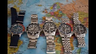 The Best Automatic Dive Watches Under $200 | Vostok Amphibia Orient Ray 2 Seiko SNZF17 SKX013 SKX009