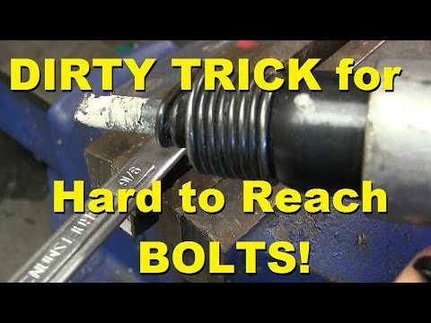 DIRTY TRICK FOR SEIZED BOLTS IN NASTY SPOTS