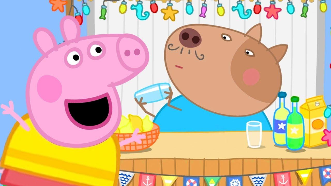 Peppa Pig en Español Episodios completos | El Aerodeslizador Del Abu Rabbit | Pepa la cerdita