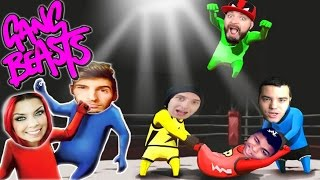 EL ESCONDITE SECRETO DE GANG BEASTS!! RISAS PURAS XD Patty Dragona