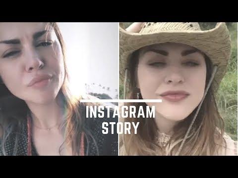 Frances Bean Cobain  Instagram Story  All Videos February 2018