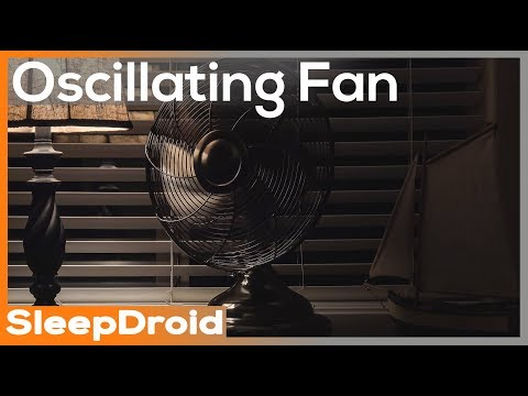 ► Oscillating Fan Sounds for Sleeping, Stereo Rotating Fan White Noise. Low Speed Oscillating Fan