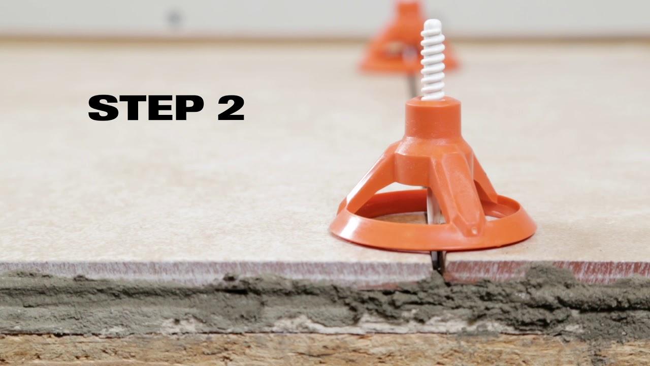 ridgid levelmax anti lippage tile leveling system