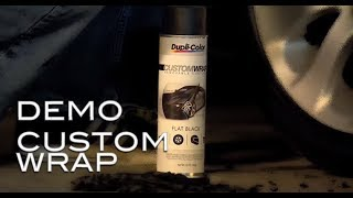Dupli-Color® How To: Custom Wrap Removable Coating