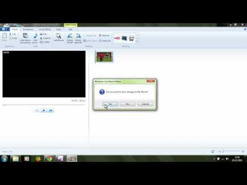 how to run mov file on windows movie maker