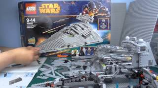 Lego Star Wars: Let's Build 40x Imperial Star Destroyer 75055