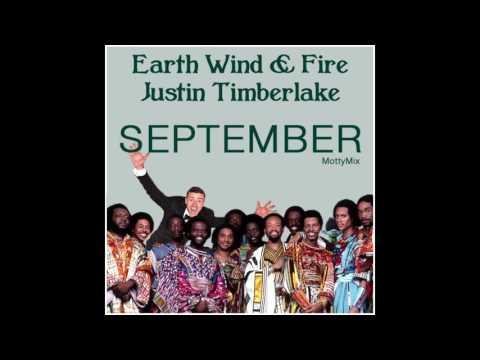 Earth Wind & Fire & Justin Timberlake - September (MottyMix)