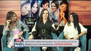Stafeta mixta | Femeile celebre se arunca in cel mai dur concurs de supravietuire, SURVIVOR ROMANIA!