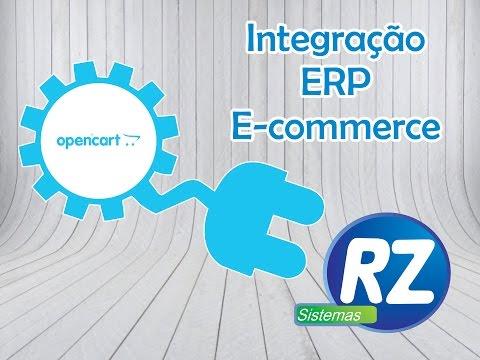 Open Cart e-commerce e Integrado com sistema ERP