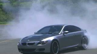 BMW M6 DRIFT BURNOUT