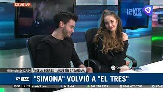 Entrevista de Ángela Torres y Agustín Casanova en