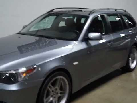2006 BMW 530xi Sport Wagon  YouTube