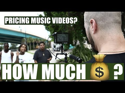 How Much Should You Charge To Shoot Music Videos | BEGINNERS