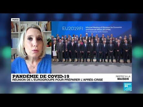 Coronavirus: L'Eurogroupe se réuni pour préparer l'après-crise du coronavirus