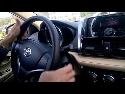 Lái xe trong sa hình hạng B2 2018 | Thi sa hình B2 mới nhất |  Toyota Vios 2017