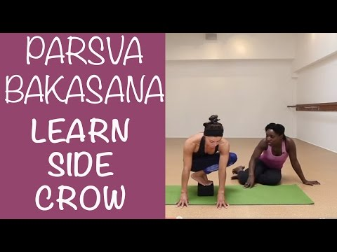 Side Crow for Beginners Parsva Bakasana