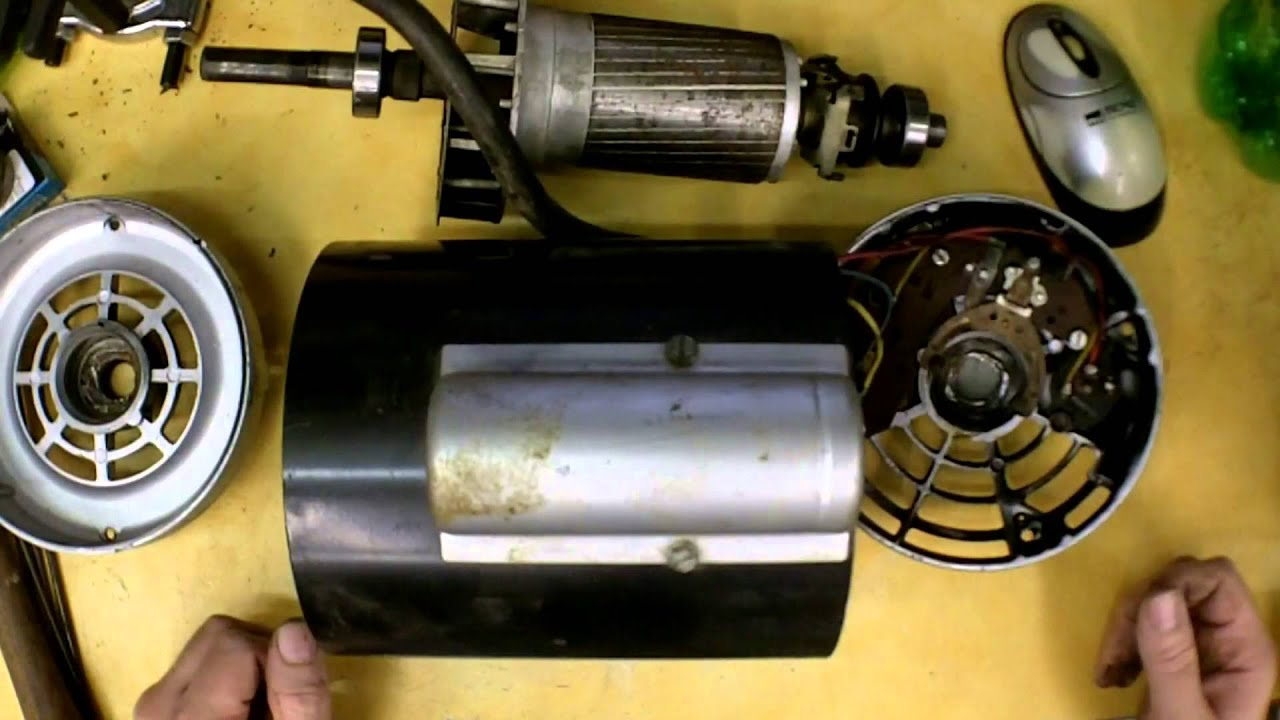 Air Compressor Motor Bearing Replacement Youtube