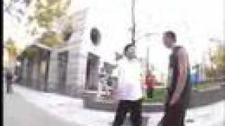 PUNK SKATER VS SECURITY GUARD!!! MUST SEE