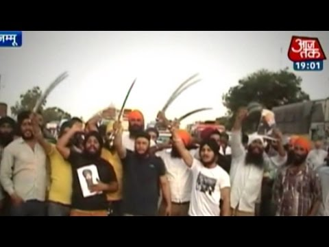 India 360: Sikhs Protest In Srinagar Against Jammu youth's Killing