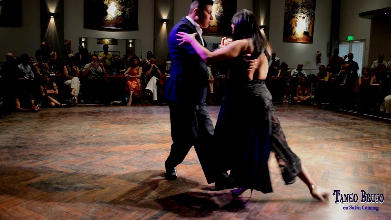 Maria ines bogado jorge l pez en tango brujo sal n for A puro tango salon canning