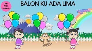 Download lagu BALON KU ADA LIMA ♥ Lagu Anak dan Balita Indonesia | Keira Charma Fun