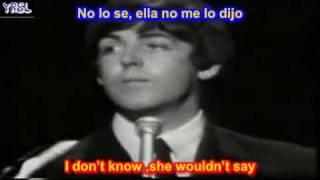 The Beatles - Yesterday ( SUBTITULADA ESPAÑOL INGLES ) thumbnail