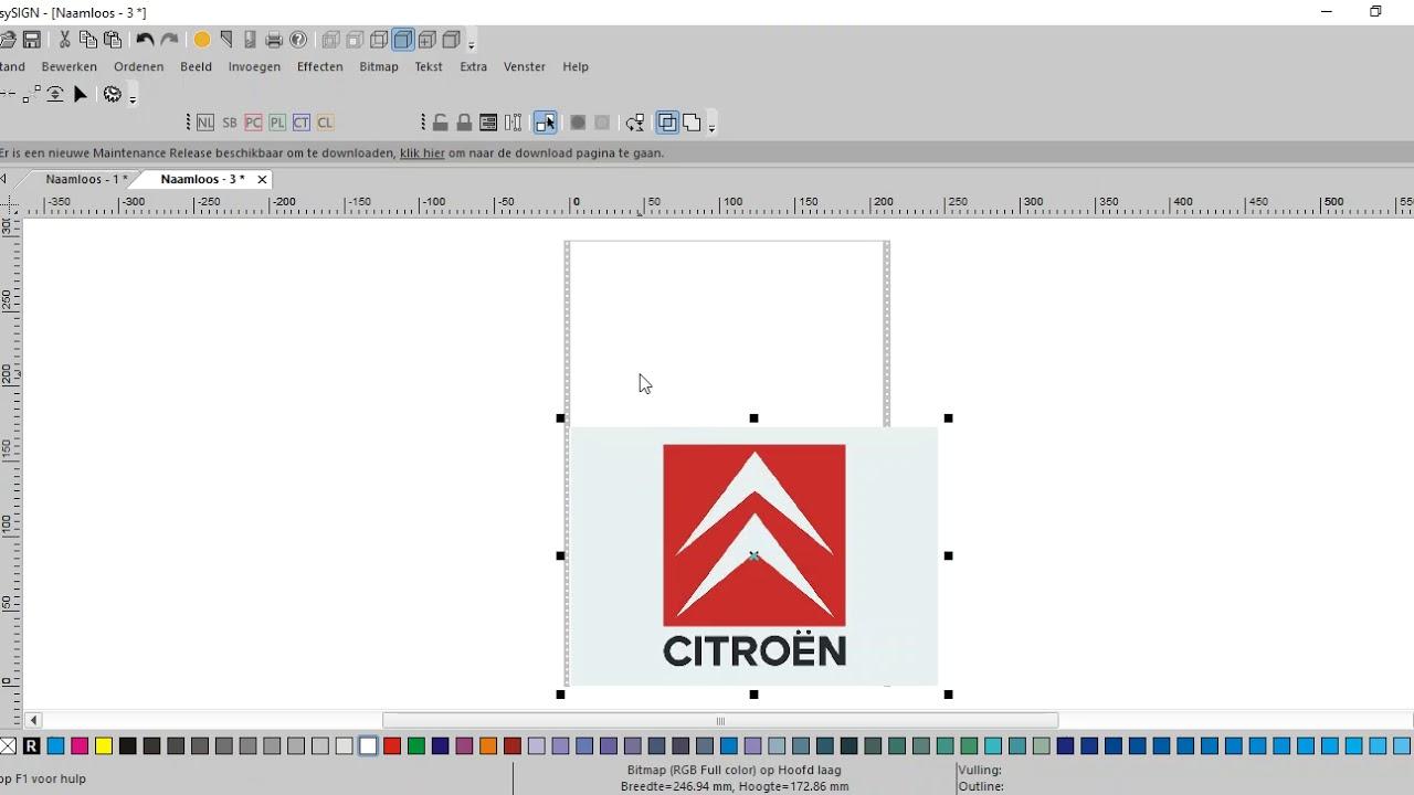 Logo importeren Easysign