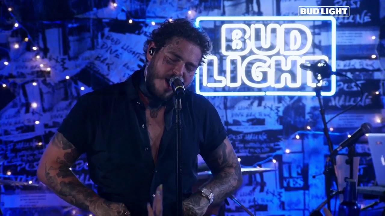 Post Malone Bud Light