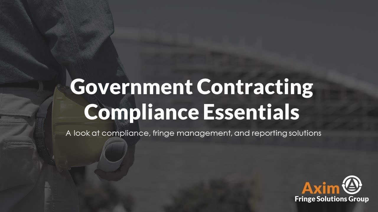 The Government Contractor's Guide to Service Contract Act