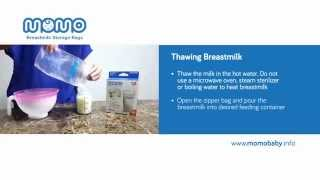 Kantong ASI - How To Thawing Breastmilk (Mencarikan ASIP Beku)